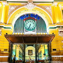 Rene Triay Photography - Saigon Central Post Office Entrance