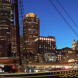 Sail Boston Tall Ship Roseway by Juergen Roth