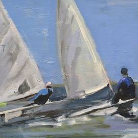 Sail Racers by Donna Tuten