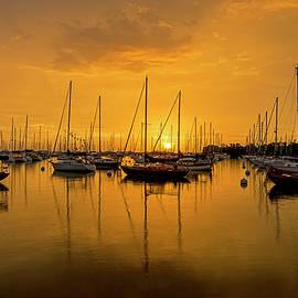 Steve Lipson - Sailboat Bay 7466