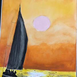 Sailboat by Donald Paczynski