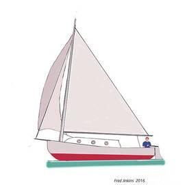 Fred Jinkins - Sailboat Happy Sailor