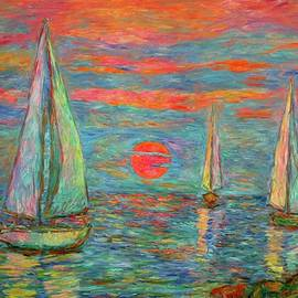 Kendall Kessler - Sailboat Sunrise