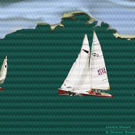 Lenore Senior and Sharon Burger - Sailboats