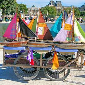 Sailing Boats by Ann Horn