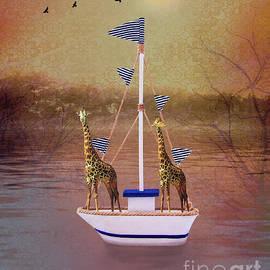 KaFra Art - Sailing Giraffes