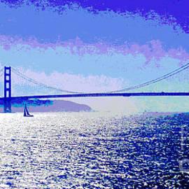 Jerome Stumphauzer - Sailing Golden Gate Bridge