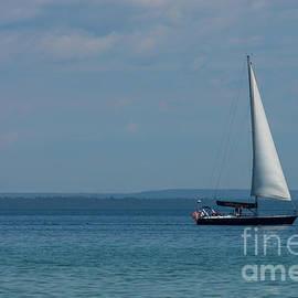 Sailing Mackinac by Jennifer White