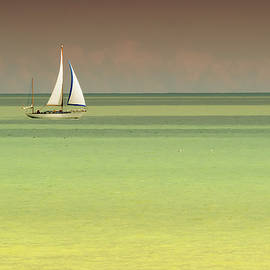 Sailing On A Golden Ocean by Stephen Barrie