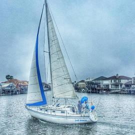Debra Martz - Sailing on Gulf Breeze