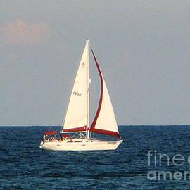 Kay Novy - Sailing On Lake Michigan