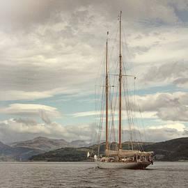 Lynn Bolt - Sailing on Loch Long Scotland