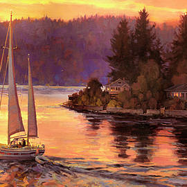Steve Henderson - Sailing on the Sound