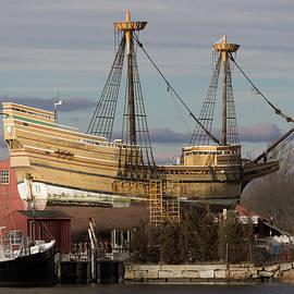 Sailing Ship Repairs by Kirkodd Photography Of New England