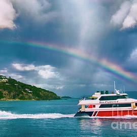 Sailing Under the Rainbow by Mariola Bitner