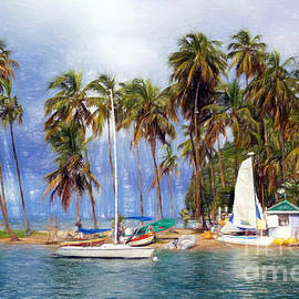 Sue Melvin - Sails and Palms