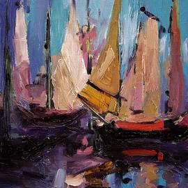 R W Goetting - Sails at dawn