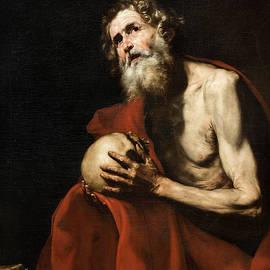 Saint Jerome penitent - Jose de Ribera