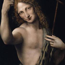 Saint John the Baptist,  circa 1505 - Leonardo Da Vinci