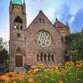 Saint John's Episcopal Portsmouth by Jerry Gammon