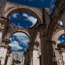 Saint Joseph Cathedral Ruins #04 by Dan Hartford