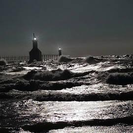 Michael Rucker - Saint Joseph Lighthouse at Night