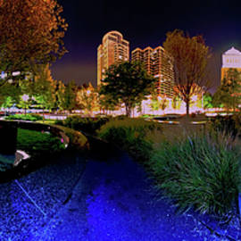 Saint Louis City Garden Panorama by David Coblitz