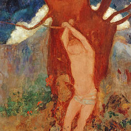 Saint Sebastian, 1910 - Odilon Redon