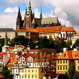 Saint Vitas and Castle Hill Prague by Ira Shander