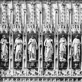 Peter Handy - Saints Above The Doors to Gloucester Cathedral