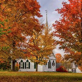 Jeff Folger - Salem Church in Autumn