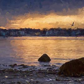 Jeff Folger - Salem view of the harbor
