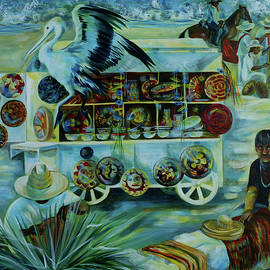 Anna  Duyunova - Salers of treasures.
