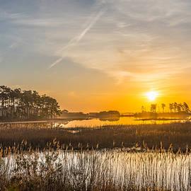 Salt Marsh Sunrise I by Steven Ainsworth