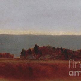 John Frederick Kensett - Salt Meadow in October, 1872