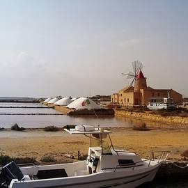 Yuri Hope - Salt mill in Sicily. Italy