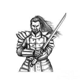 Aloysius Patrimonio - Samurai Katana Sword Tattoo