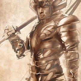 Fabrizio Uffreduzzi - Samurai Warrior
