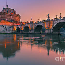 Henk Meijer Photography - San Angelo Bridge and Castel Sant Angelo