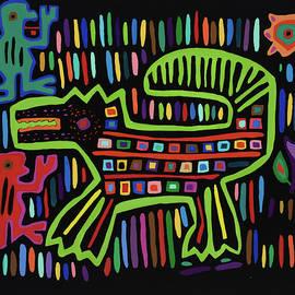 San Blas II by Pat Saunders-White