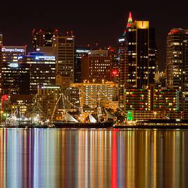 San Diego Downtown Winter Night