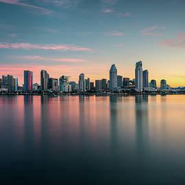 James Udall - San Diego Skyline at Dawn