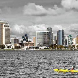 San Diego Skyline by Gabriele Pomykaj