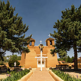 San Francisco De Assisi Mission Church Taos New Mexico 2 by Lawrence S Richardson Jr