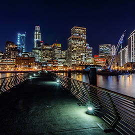 San Francisco From Pier 14 by Jack Peterson