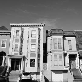 Matt Harang - San Francisco Houses - Black and White