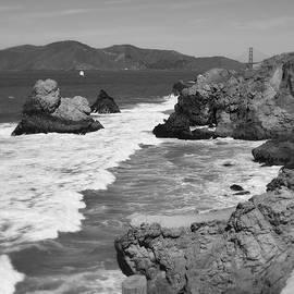 San Fransisco Shoreline Cliffs by Glenn McCarthy Art and Photography