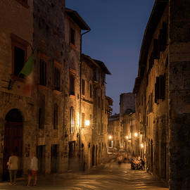 San Gimignano Night I - Niall Whelan