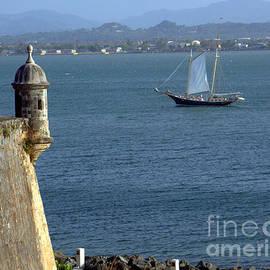 Charlene Cox - San Juan Puerto Rico Fort  San Felipe del Morro Fortress
