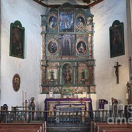 Catherine Sherman - San Miguel Mission Altar